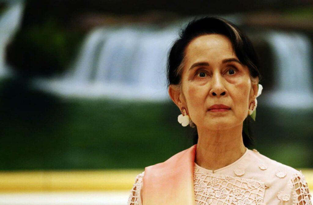 Activista de Derechos humanos, Aung San Suu Kyi.