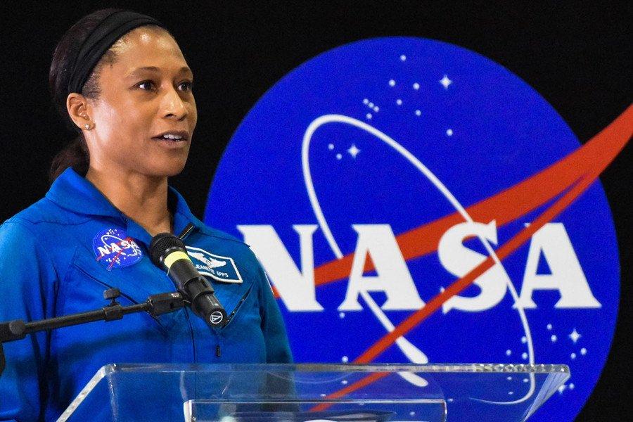 Astronauta afroamericana.