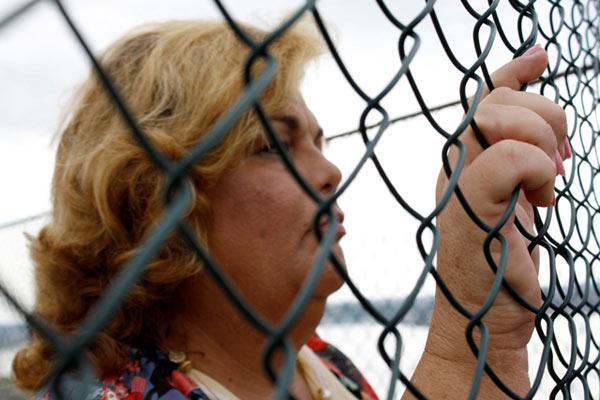 """Mabi Susel en un fotograma de la película """"En el cuerpo equivocado""""."""