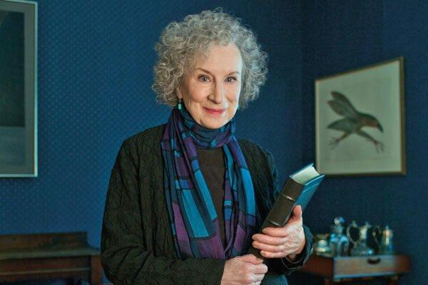 La escritora Margaret Atwood.