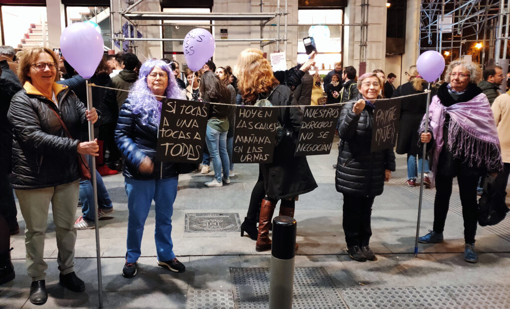Colectivo feminista de mayores.